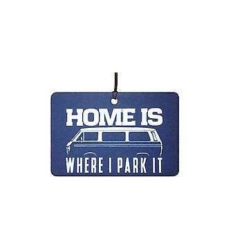 Home is Where I Park It Car Air Freshener