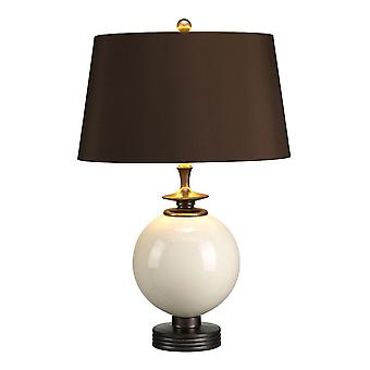 Elstead-1 lys bordlampe-krem finish-CLARA/TL