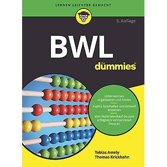BWL Fur Dummies by Tobias Amely - Thomas Krickhahn - 9783527712397 Bo