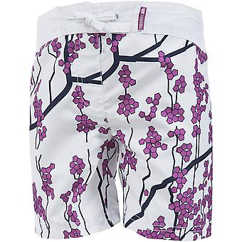 Trespass Girls Mabel Print Pattern Mid Length Summer Casual Shorts