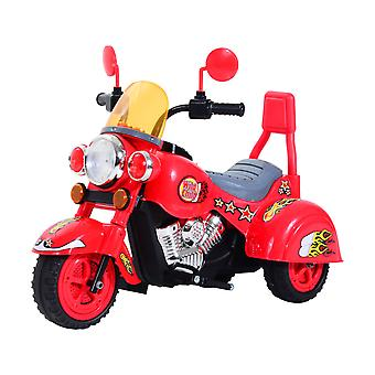 Homcom Ride On Toy Car Kids Motorbike Electric Motor 6V Battery Operated Toy  (Red)