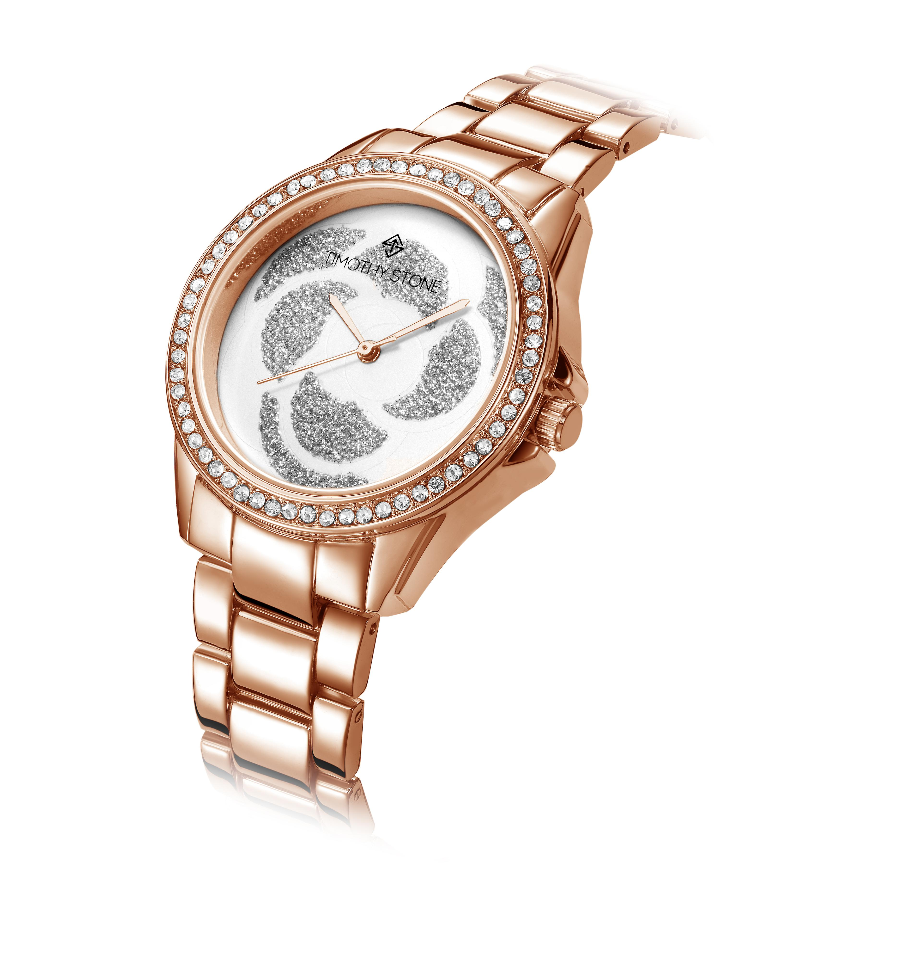 Timothy Stone Women's KATY Rose Gold-Tone Watch