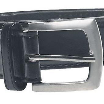 デューク メンズ D555 ルイス キングサイズ プレーン レザー ベルト