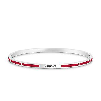 University of Arizona Bracelet In Sterling Silver Design by BIXLER