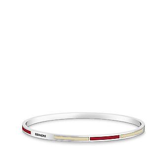 Il braccialetto dell'Università dell'Oklahoma in Sterling Silver Design di BIXLER