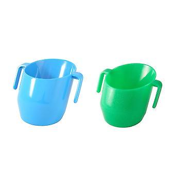 Doidy Cup - Blue & Doidy Cup Green Sparkle *2 Item Bundle*