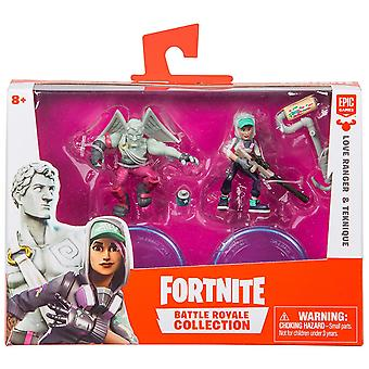 Fortnite Duo Pack Assortment Wave 1 Teknique & Love Ranger