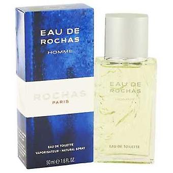 Eau De Rochas de Rochas Eau De Toilette Spray 1.7 Oz (hommes) V728-412596