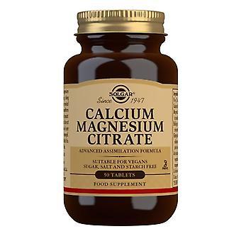 سولغار الكالسيوم المغنيسيوم سيترات أقراص 50 (508)