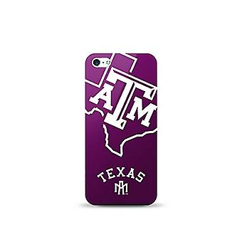 5 Pack -Mizco Sports NCAA Oversized Snapback TPU Case for Apple iPhone 5 / 5S / SE (Texas A&M Aggies)