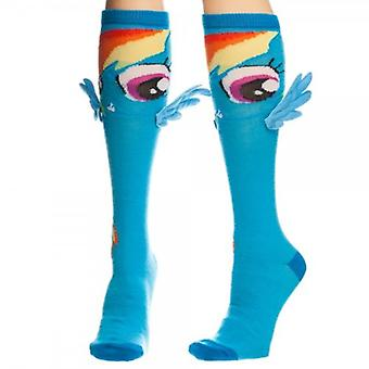 Knee High Sock - My Little Pony - Rainbow Dash w/Wings Anime Toys kh0vIqlpt