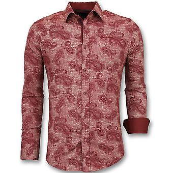 Floral print - Slim Fit - Red