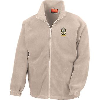Queens Regiment Veteran - Licensed British Army Embroidered Heavyweight Fleece Jacket