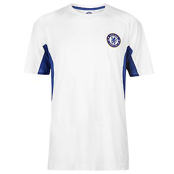Source Lab Mens Chelsea Poly T Shirt Short Sleeve Crew