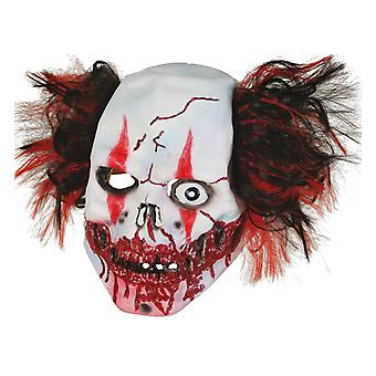 Horor klaun strašidelný Trojštvrťové maska hanba Halloween