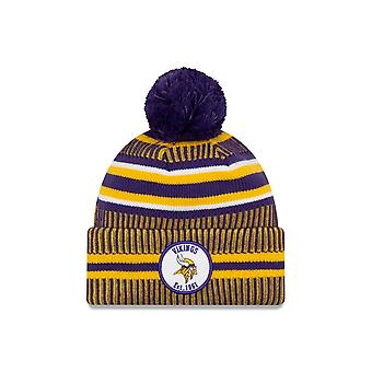 New Era Nfl Minnesota Vikings 2019 Sideline Home Sport Tricot