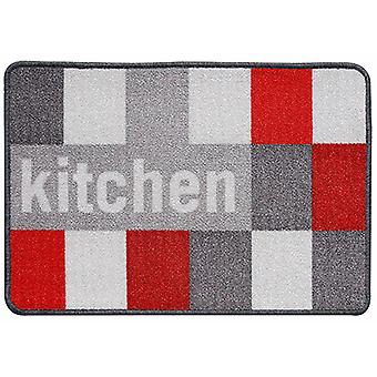 Wellindal Kitchen carpet gray squares 44x65 cm (Kitchen , Kitchen Organization , Others)
