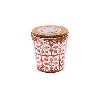 Eura Candle Eura ceramics 10x10cm Rose