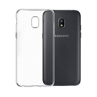 CoolSkin3T für Samsung J7 2018 Transparent Weiß