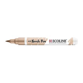 Talens Ecoline Liquid Watercolour Brush Pen - 420 Beige