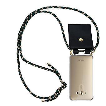Cadorabo Cell Phone Chain Case for Asus ZenFone 3 Deluxe Case Cover - Collar Funda de hombro de silicona con cordón de cinta y estuche extraíble - Cubierta de la funda de la funda de la cubierta
