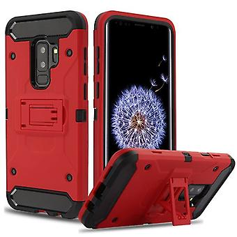 Red/Black Kinetic Hybrid Case for Galaxy S9 Plus