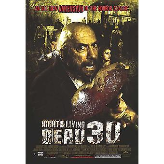 Night Of The Living Dead 3D (Single Sided Regular) (2006) Original Kinoposter