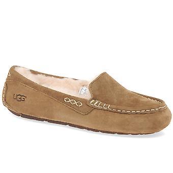 UGG Ansley señoras castaños alineados zapatillas 3312