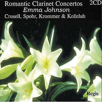 Emma Johnson - Romantic Clarinet Concertos [CD] USA import
