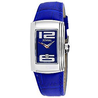 Jovial Women's Classic Blue Dial Watch - 08007-LSL-03