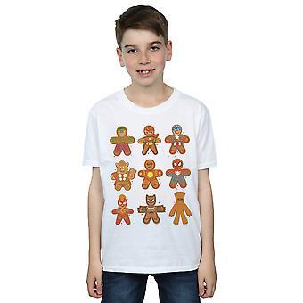 Marvel drenge Avengers jul Gingerbread T-shirt