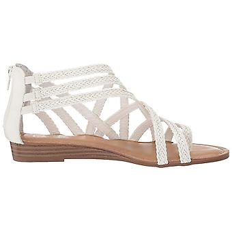 Carlos by Carlos Santana Womens Amara Fabric Split Toe Walking Strappy Sandals