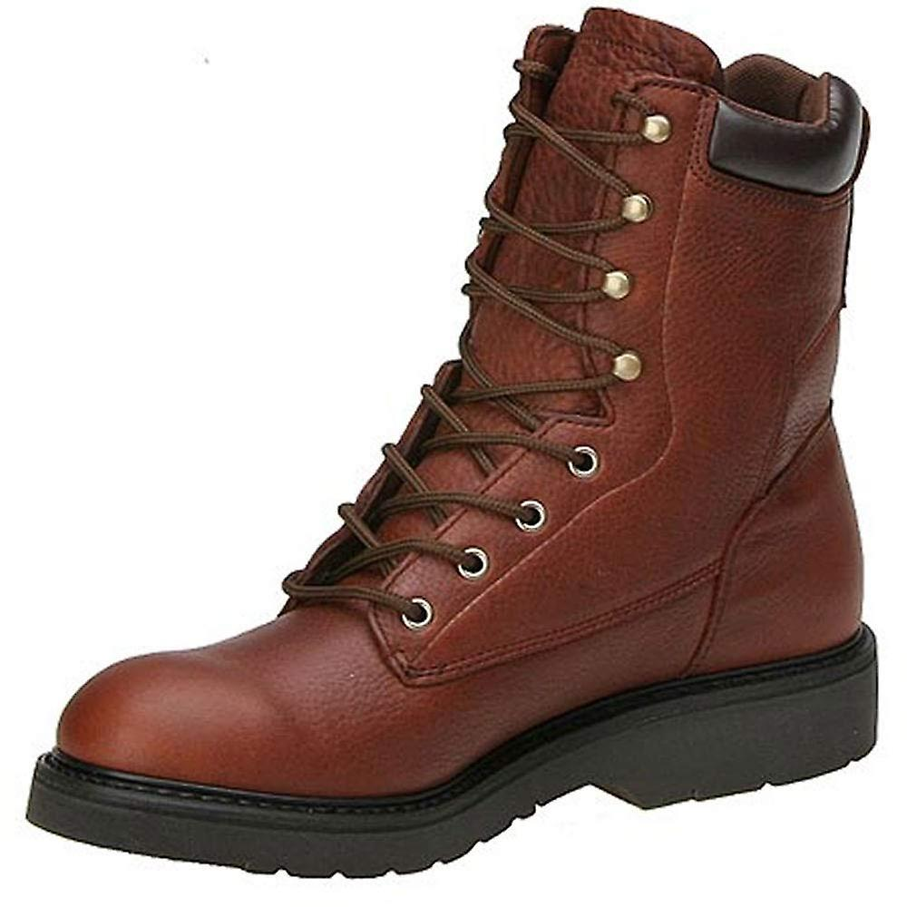 Work America Mens Brawny Leather Closed Toe Mid-calf Safety Boots