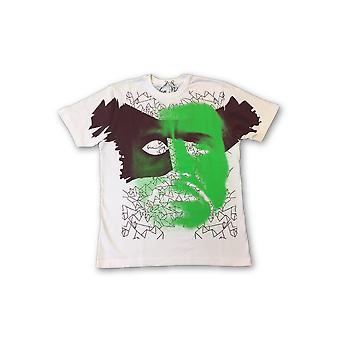 Aon Black Limited Edition T-shirt in white and green