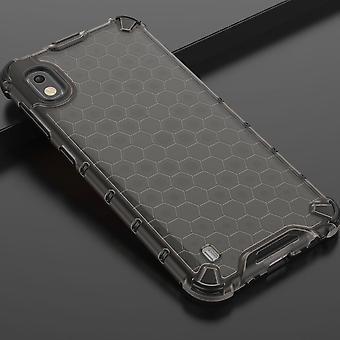 Para Samsung Galaxy A10 A105F caso de silicona choque híbrido TPU protección gris caso caja cubierta accesorios nuevos