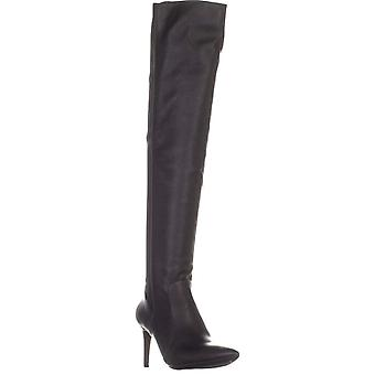 INC International Concepts I35 Izettap Over The Knee Boots, Black, 11 US