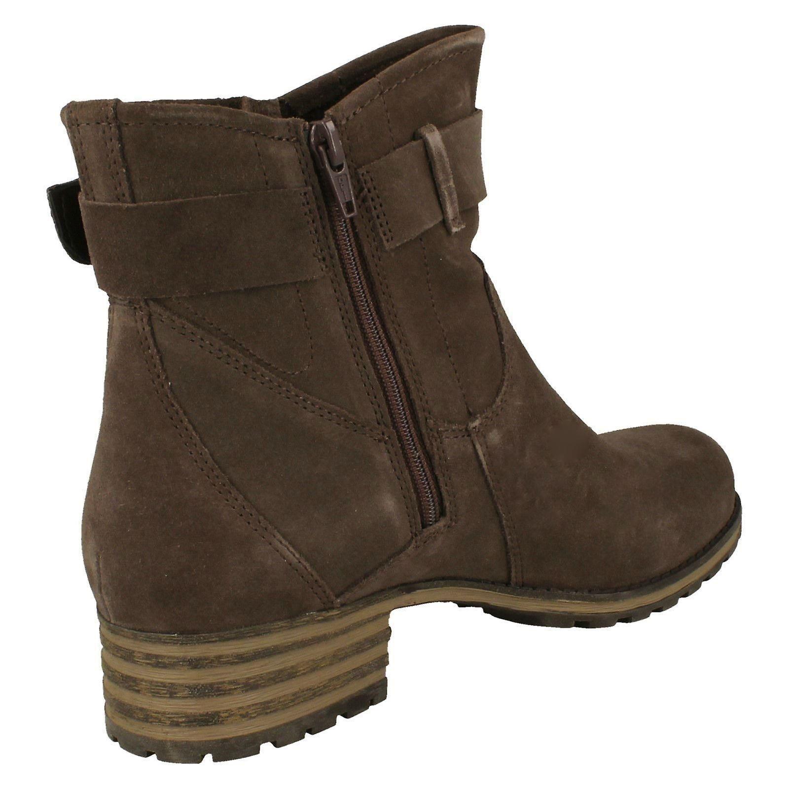 Ladies Clarks Smart Ankle Boots Marana Amber