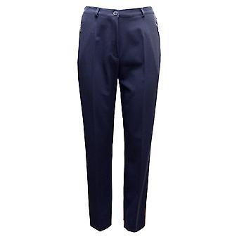 ROBELL Robell Navy Trousers Sahra 51562 5405 69