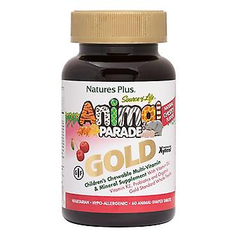 Nature's Plus Animal Parade Gold Chewable Multi Cherry Flavour 60 (29931)