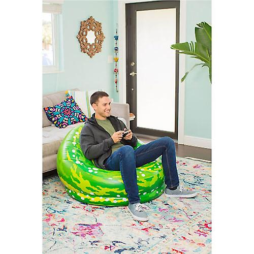 Chaise gonflable Rick et Morty