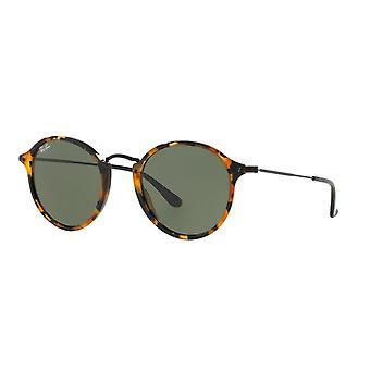 Ray-Ban RB2447 1157 Spotted Black Havana/Green Sunglasses