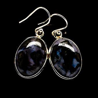"""Gabbro oorbellen 1 1/4 """"(925 sterling zilver)-handgemaakte Boho vintage sieraden EARR394874"""