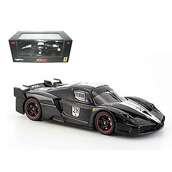 Ferrari Enzo FXX Diecast Car Model Black #28 Elite Limited Edition 1/43 Diecast Model Car par Hotwheels