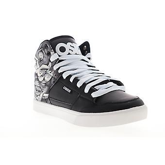 Osiris Echo  Mens Black Synthetic Skate Sneakers Shoes