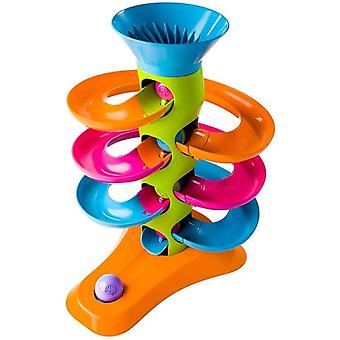 Fat Brain Toys RollAgain Tower 41x11x39cm 1+