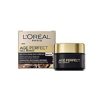 Crème de jour revitalisante de l'âge de l'Oréal 50ml SPF15 Illumine