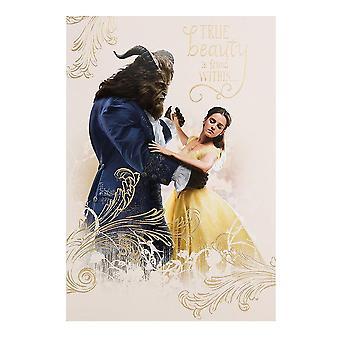 Hallmark Beauty And The Beast Blank Card 25482264
