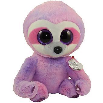 TY Beanie Buddy soñador perezoso púrpura - medio