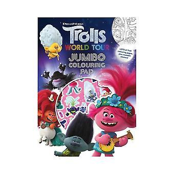 Trolls World Tour Jumbo Colouring Pad