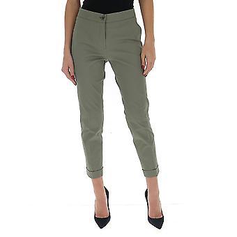 Etro 1331215820501 Women's Green Cotton Pants